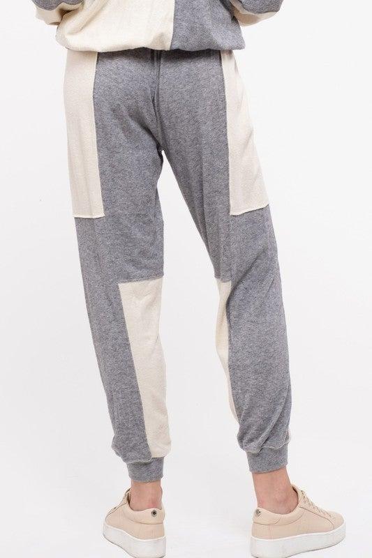 *FINAL SALE* Color Block Party Sweatpants