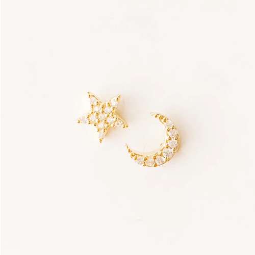 The Stars and The Moon Earrings