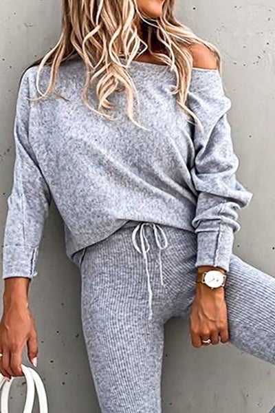 Wake Me Up Loungewear - Grey