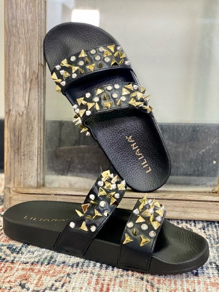 Summer Fun Sandals - Black