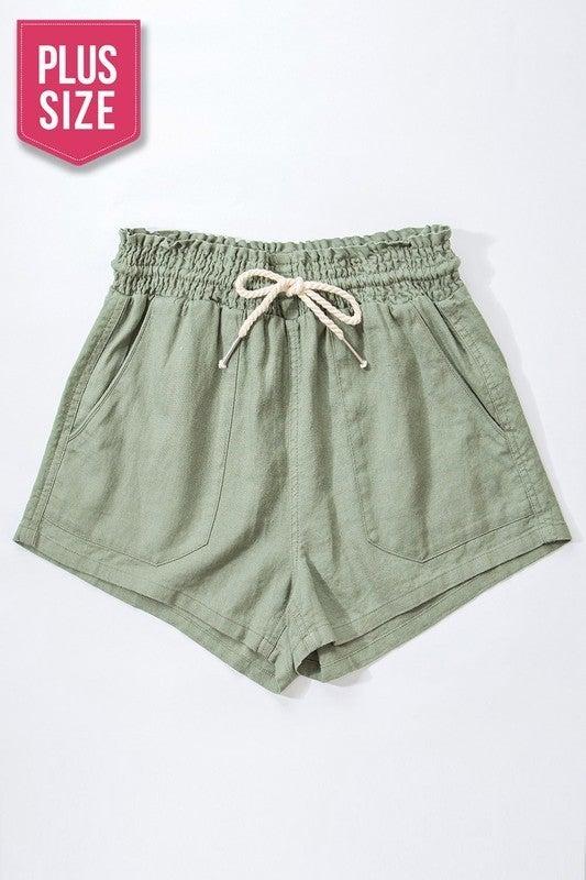 Always Relaxing Linen Shorts