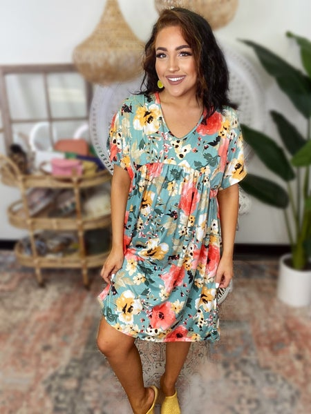 A Blooming Spring Dress