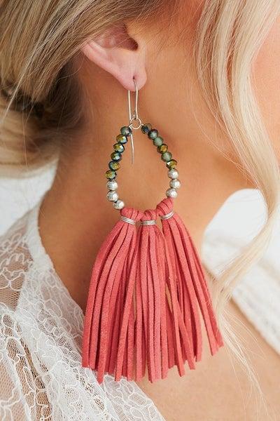 Tell All Tassel Earrings