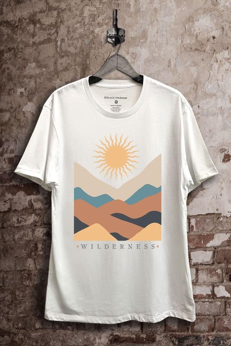 Wilderness Graphic Tee - White