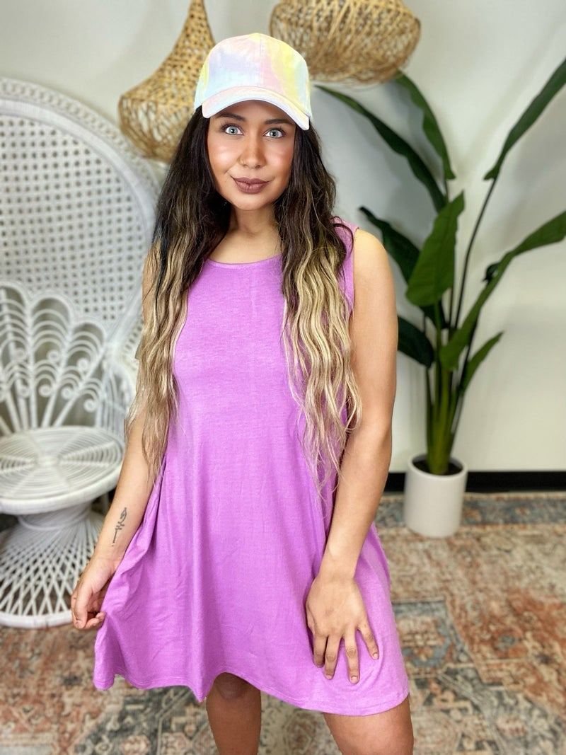 Have Your Attention Dress - Purple