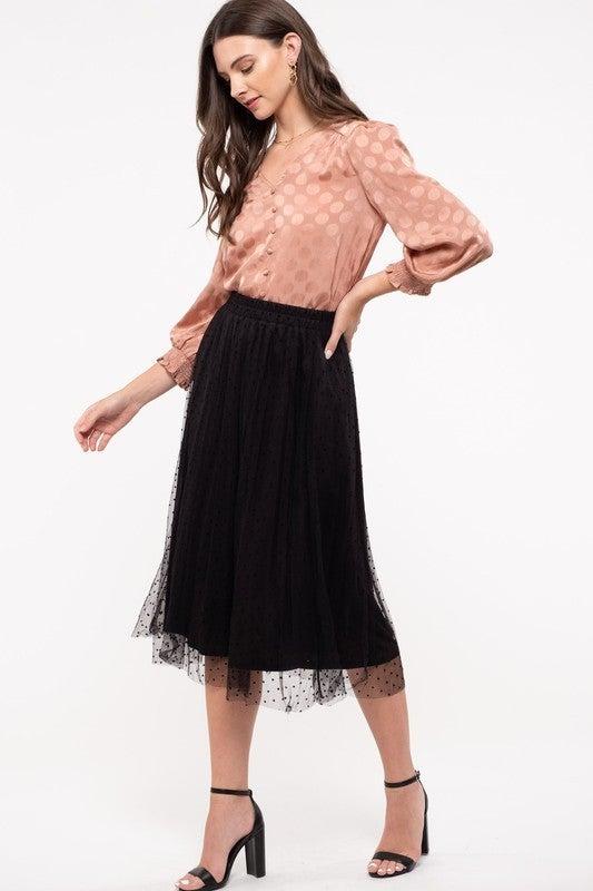 For The Frill Skirt