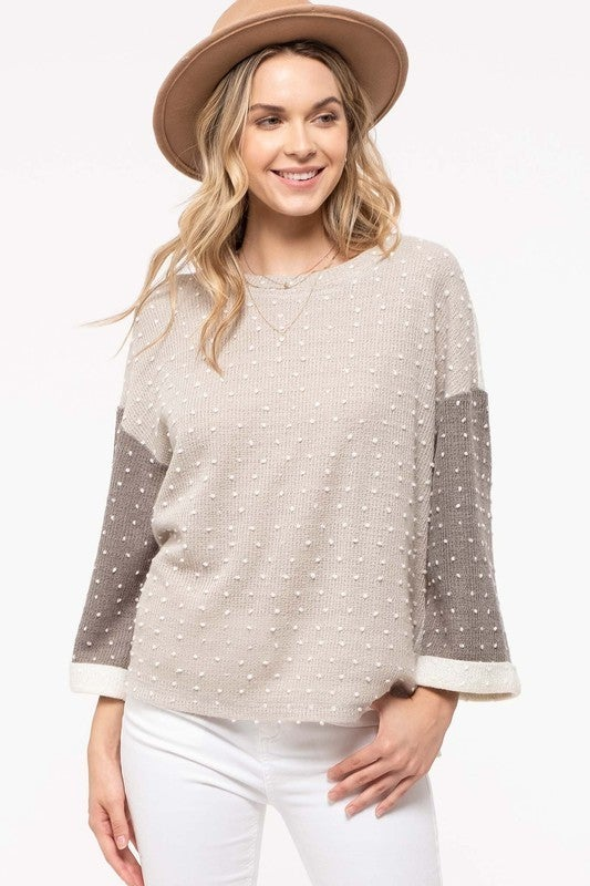 *FINAL SALE* Love That Texture Top