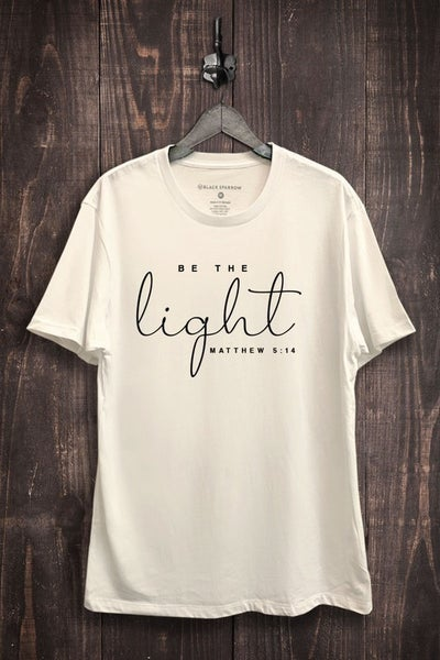 Be The Light Graphic Tee