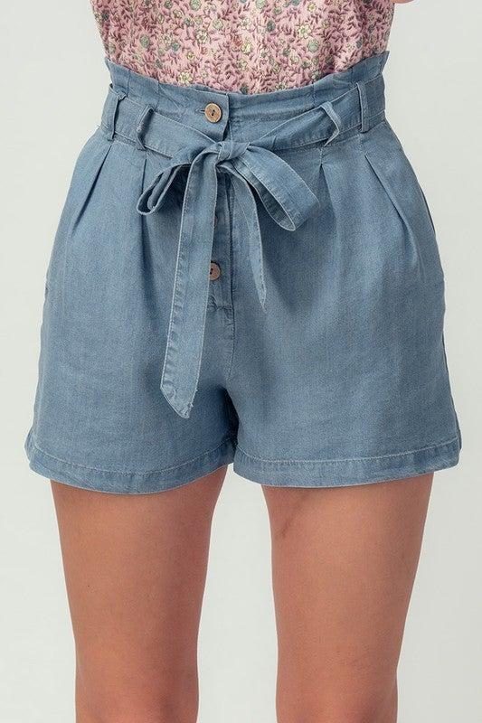 Vacay Linen Shorts