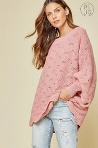 *FINAL SALE* So Darling Sweater - PINK