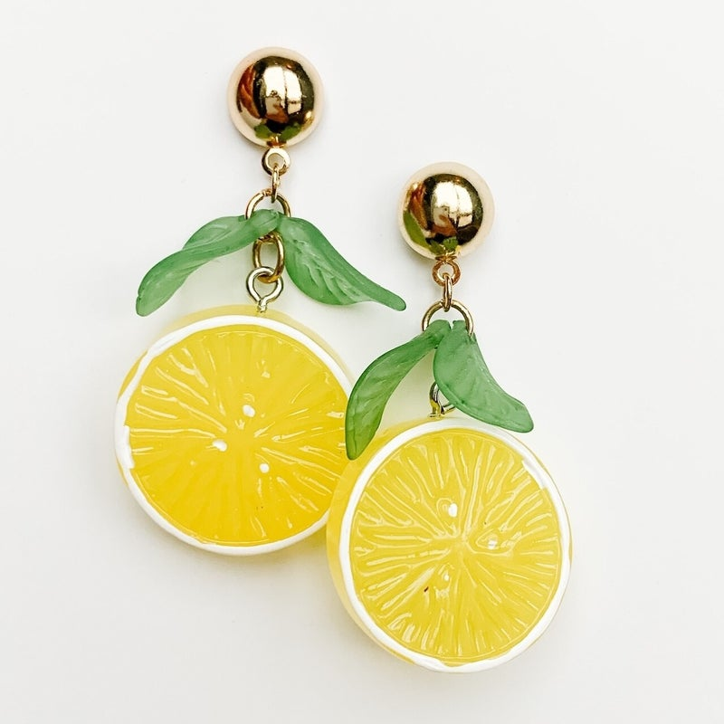 Fresh Squeezed Lemon Earrings