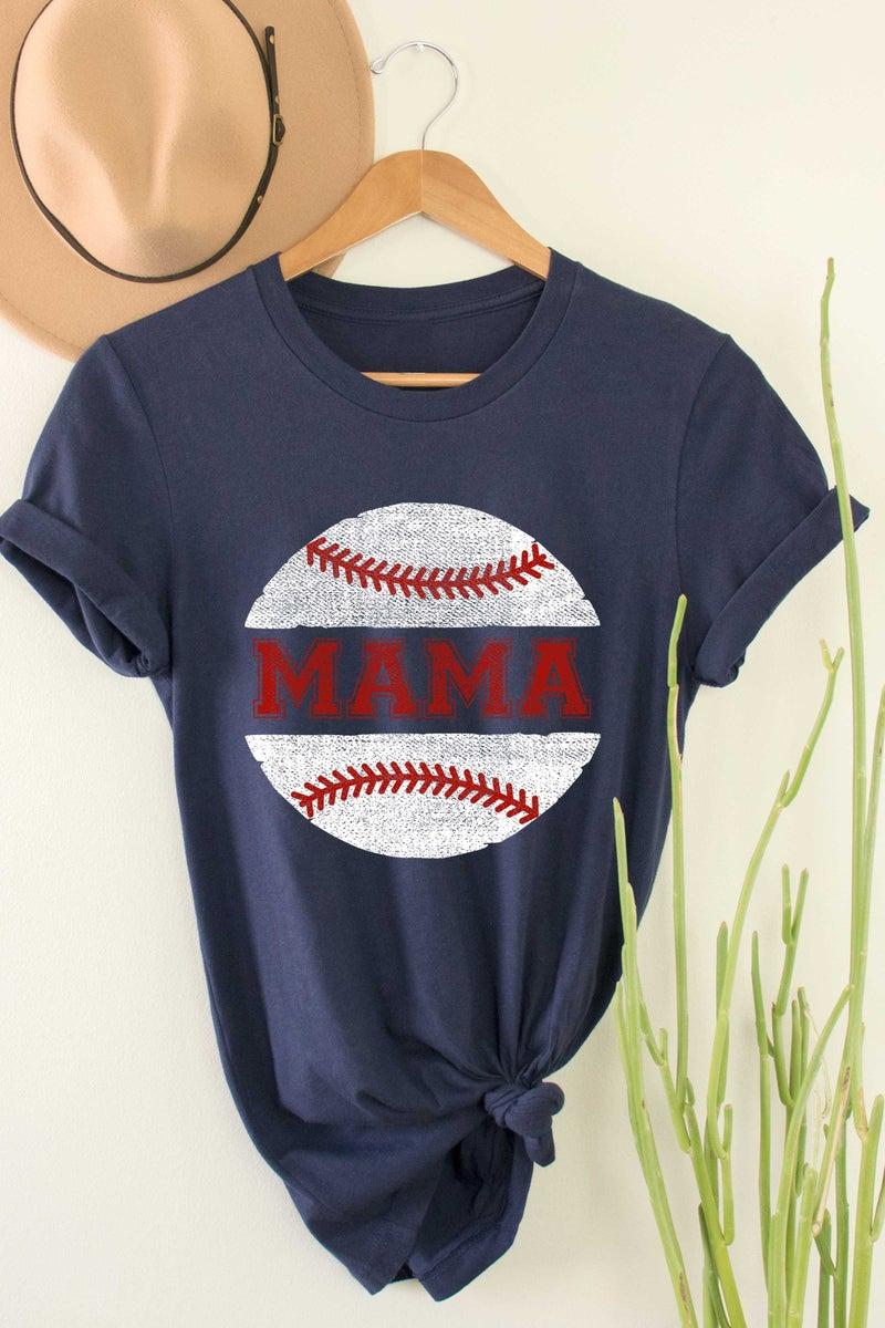 Baseball Mama Graphic Tee