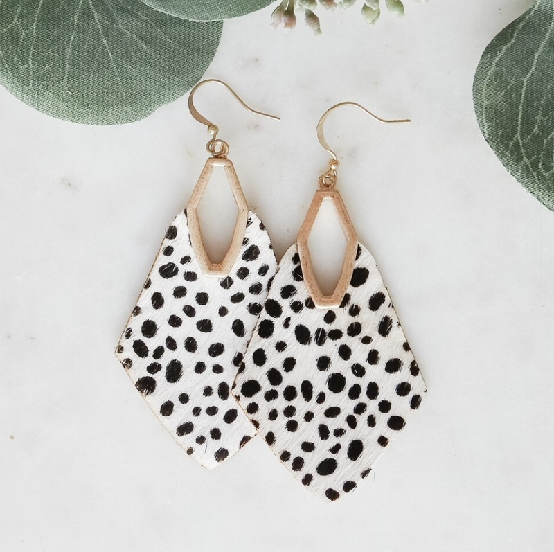 Spotted Downtown Earrings