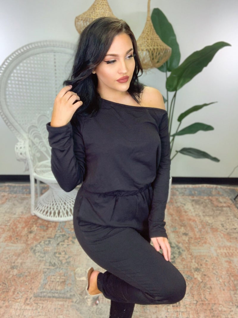 Day To Night Black Jumpsuit