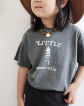 Kids Little Firecracker Graphic Tee