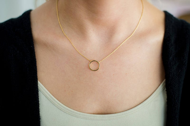 Circle Together Necklace