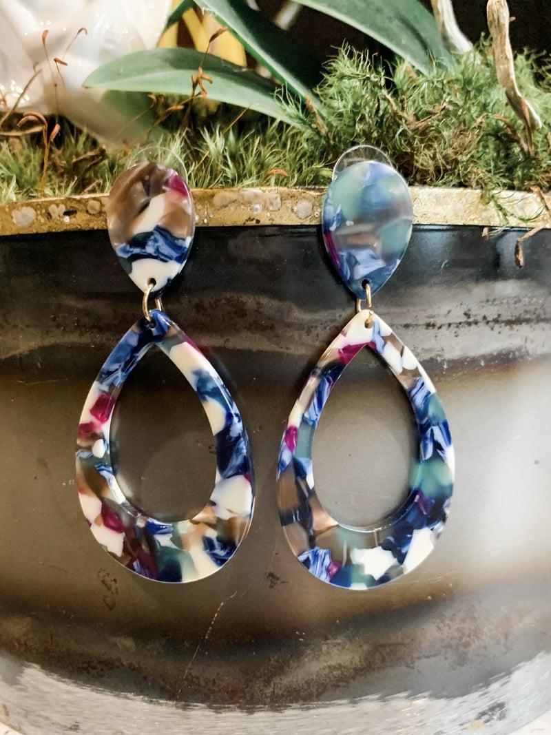 Teardrop Fashionista Earrings