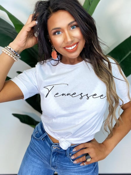 Tennessee Tee - White