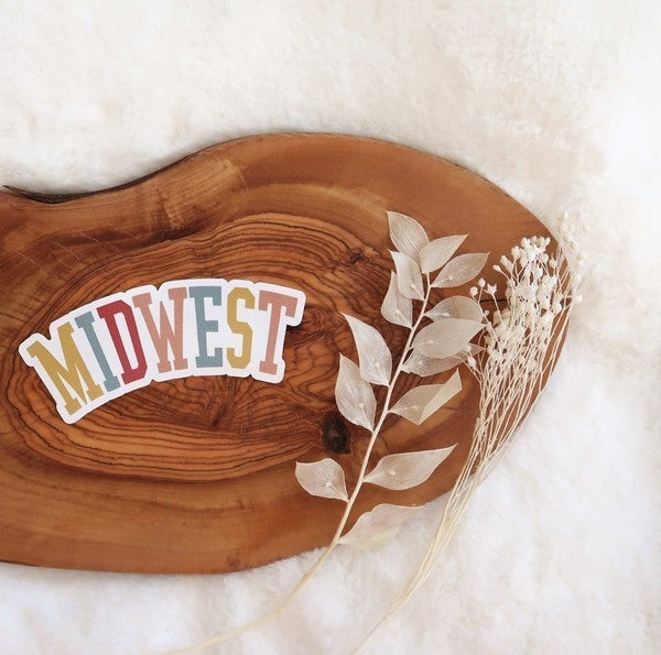 Midwest Vinyl Sticker - Multi