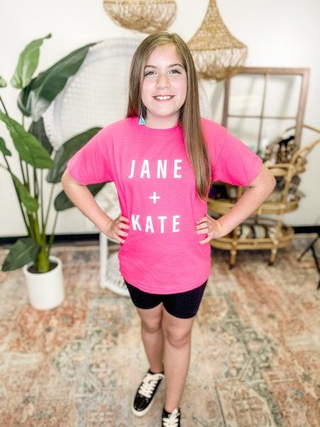 Jane&Kate Youth Graphic Tee - Print