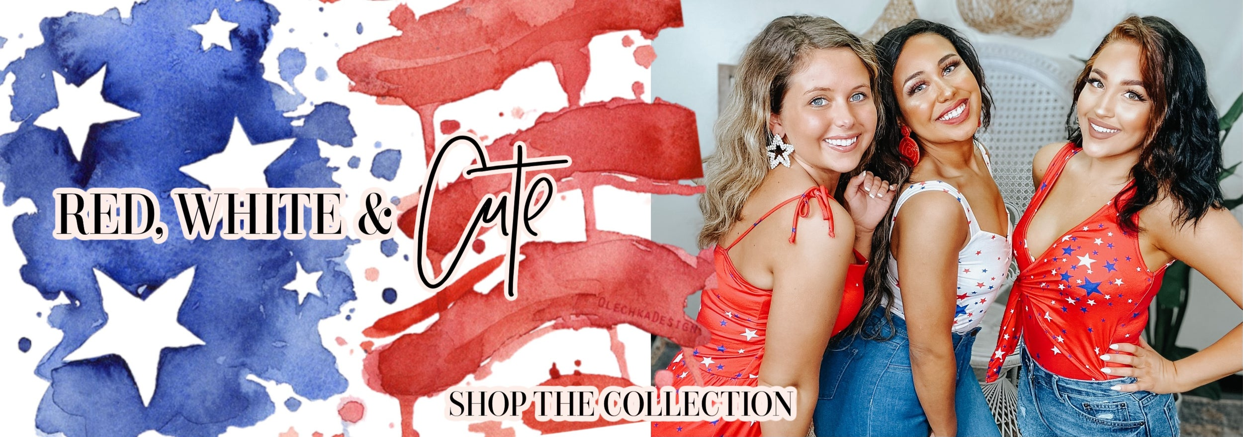 RED, WHITE, & BLUE COLLECTION