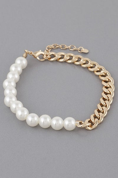 Holding On Bracelet - Cream