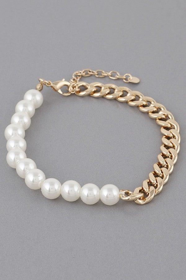 Holding On Bracelet - Cream
