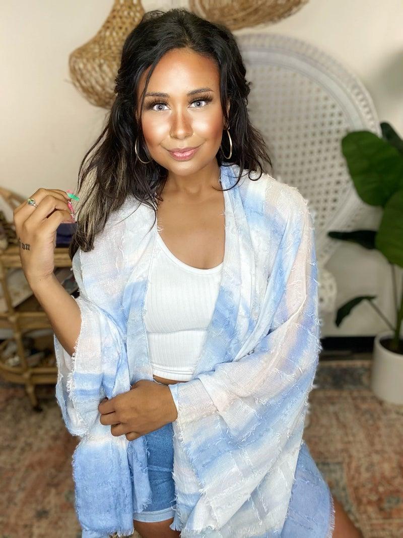 Dip Me In Dye Kimono