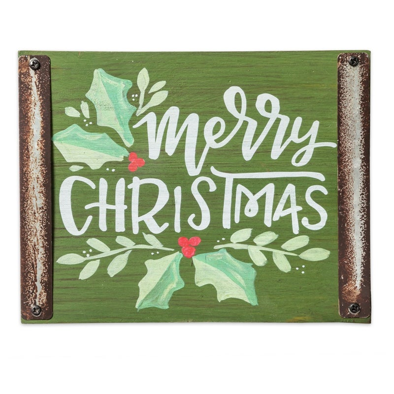 *FINAL SALE* Wood Block Sign by Brownlow Gifts