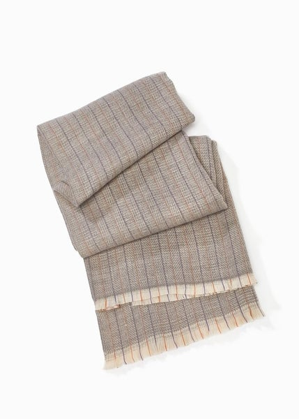 *FINAL SALE* Herringbone Striped Scarf