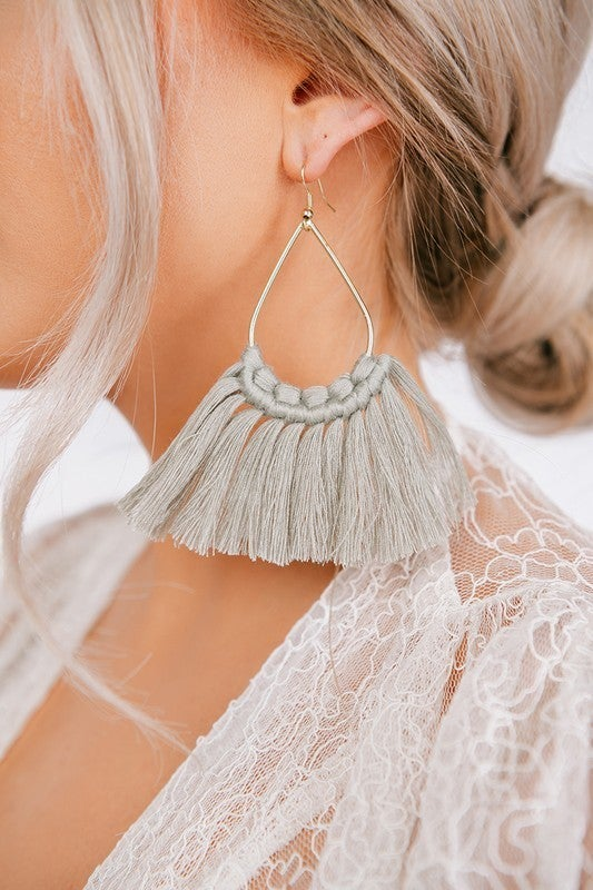 Knotted Bliss Earrings