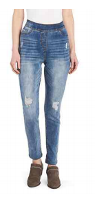 *FINAL SALE* OMG Distressed High Rise Skinny