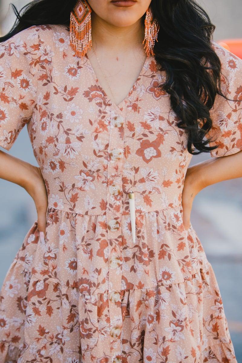 Sweet As Pie Floral Dress