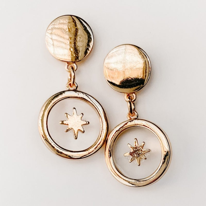 Watch From Above Earrings