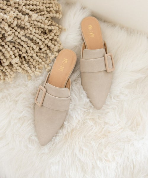 Caroline Pointed Mules