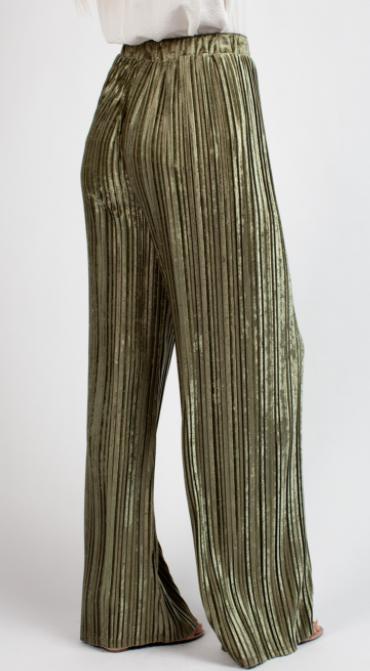 Dipped in Velvet Pants