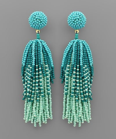 Turquoise Firework Beauty Earrings