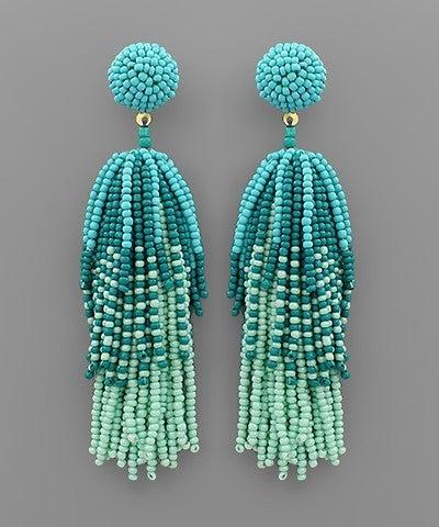 Turquoise Firework Beauty Earrings