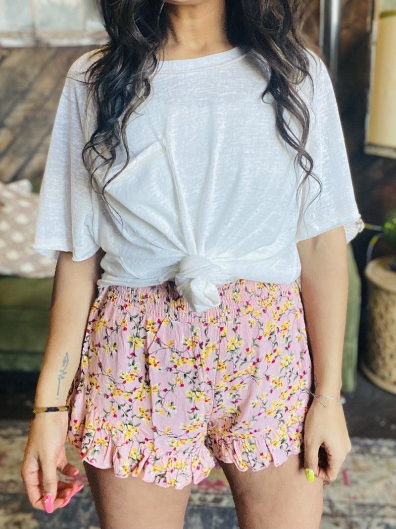 Jules Floral Shorts