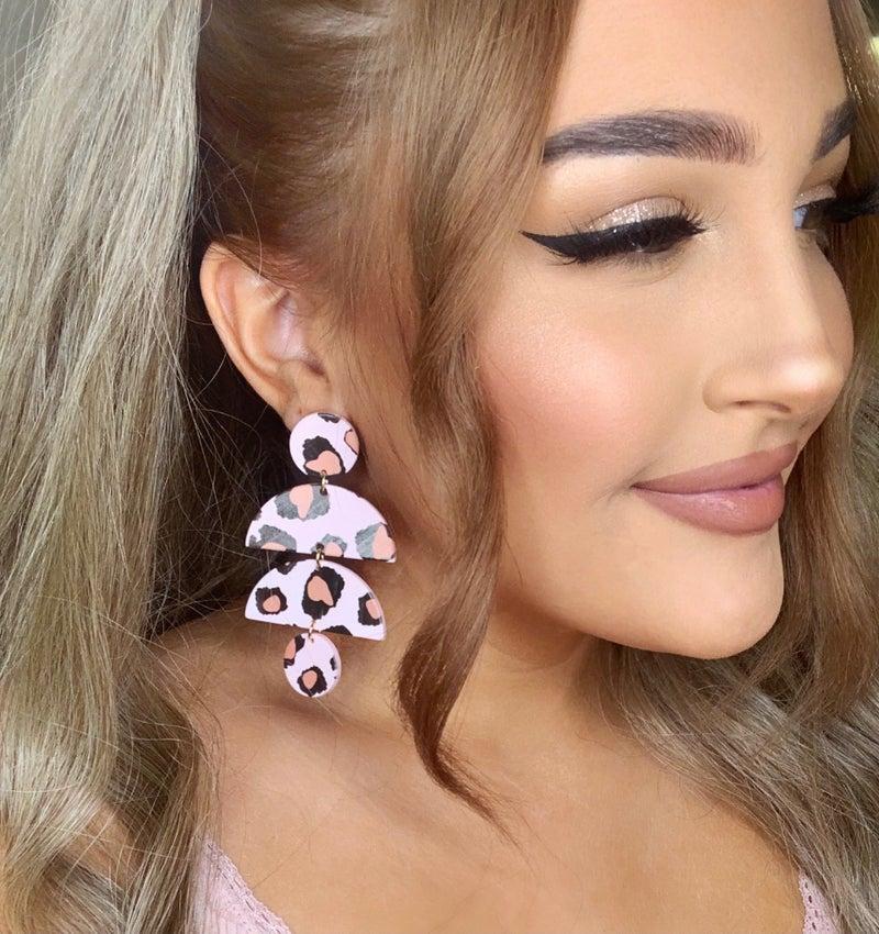 Wild Side Geo Shape Earrings