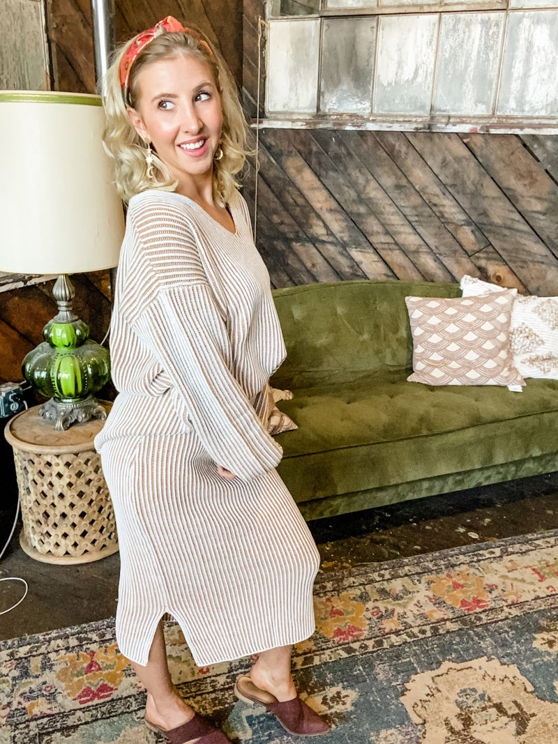 Suave As Can Be Knit Skirt
