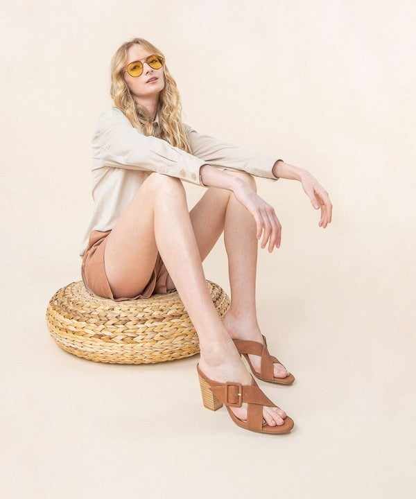 Vanessa Criss Cross Heels