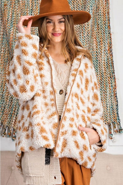*FINAL SALE* Fuzzy Feelings Jacket