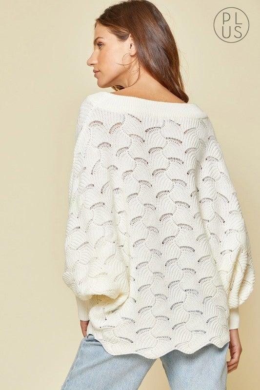 *FINAL SALE* So Darling Sweater - IVORY