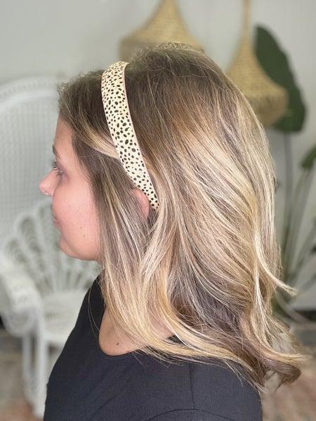 Dot Leopard Headband