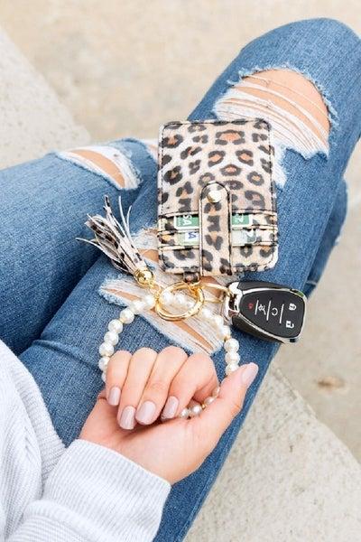 On My Way Key Ring Wallet Bracelet
