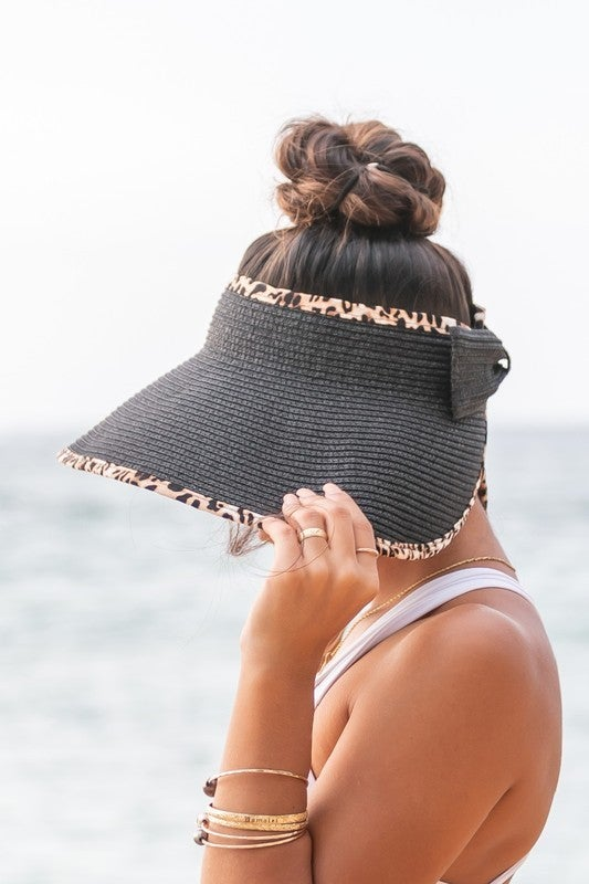 Just For You Foldable Bow Visor
