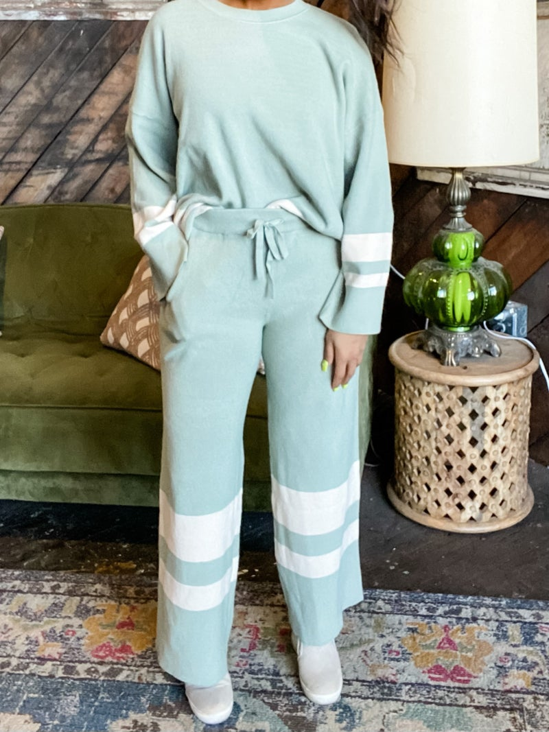 *FINAL SALE* Sporty Striped Loungewear Pants