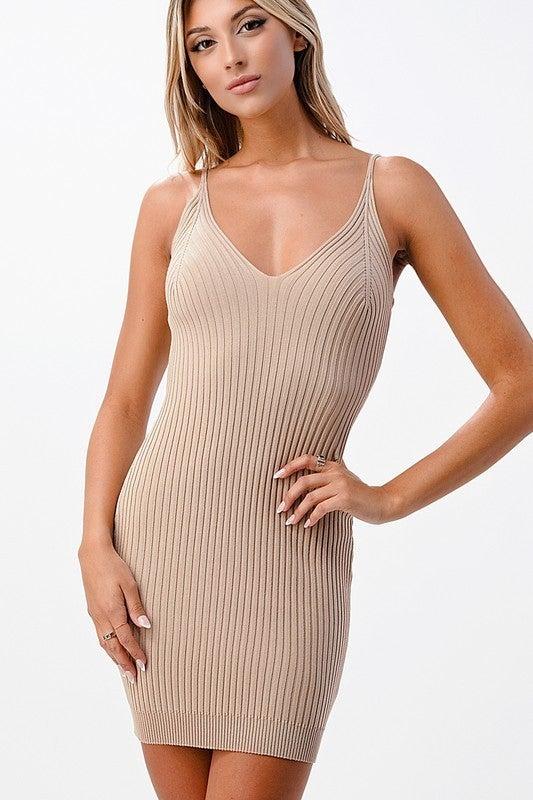 Pretty In Knit Mini Dress