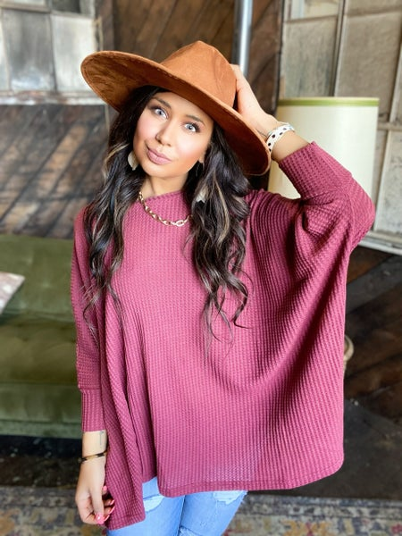 So Chill Tunic Top - BERRY